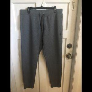 Men's sweat pants.